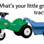 Little Green Tractor – Lessons on Obedience