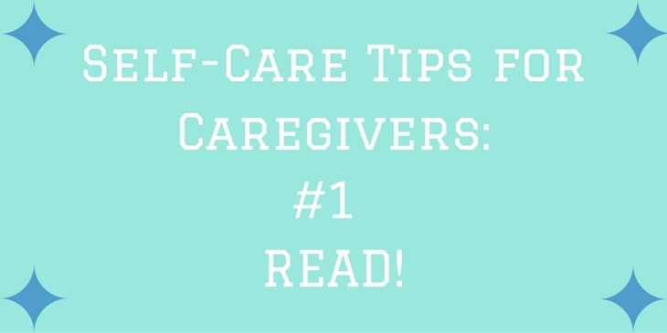 Reading Self-care tip #1