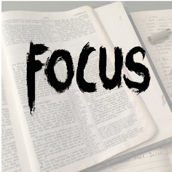 Take a moment, a deep breath of a moment, and focus on God!