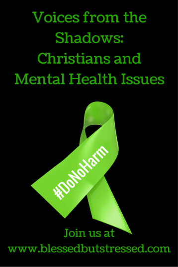 Voices from the Shadows: Christians and Mental Health Issues http://wp.me/P2UZoK-1fg