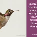 Intercessory Prayers Provide Invisible Lift