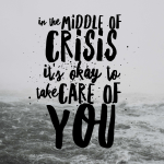 In the Midst of Catastrophe and Crisis
