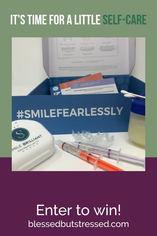 Enter now to win an at-home teeth whitening kit from Smile Brilliant!