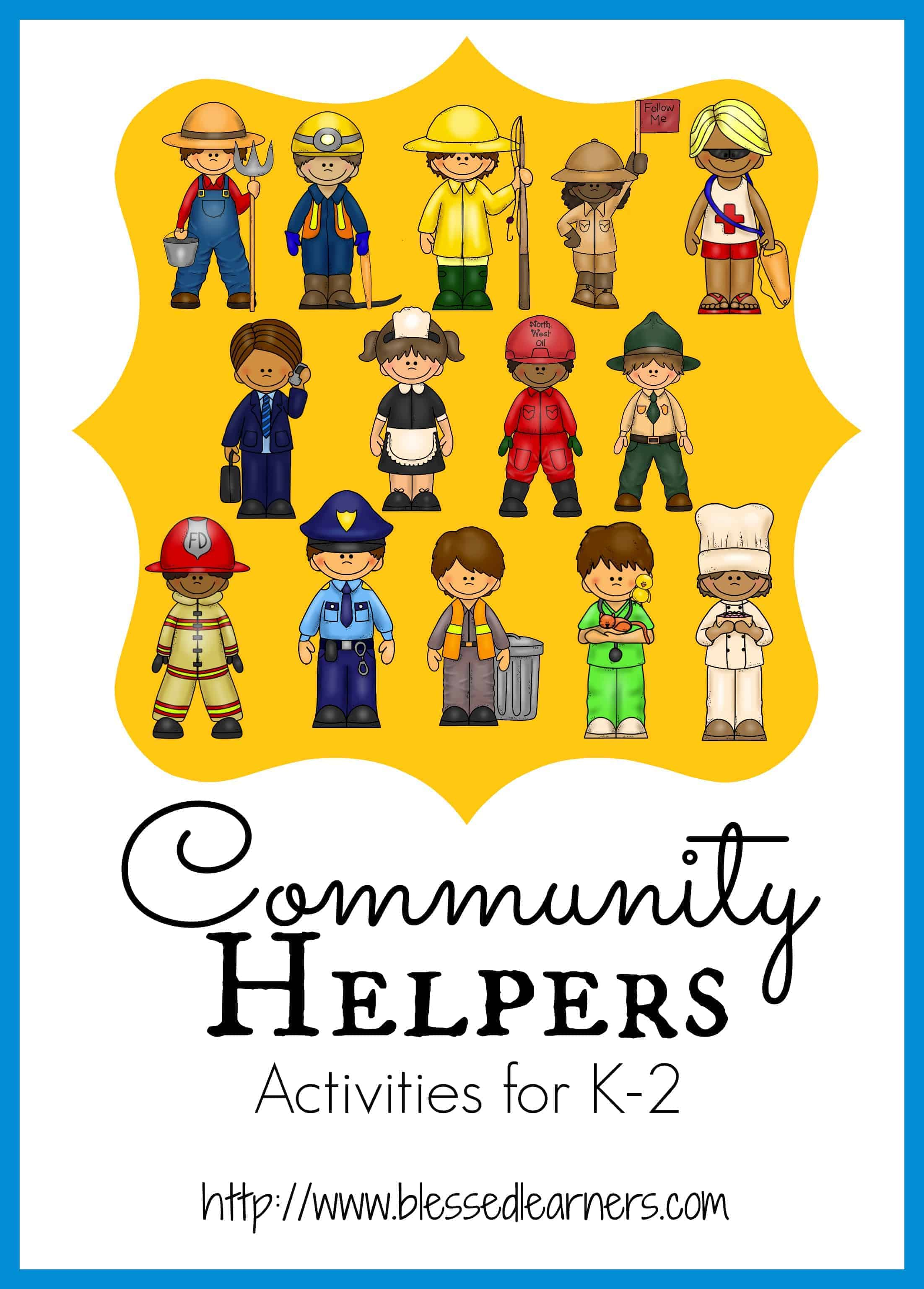 Activities For The Community Helper Unit For Children