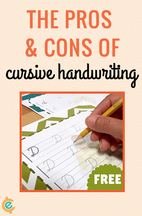 Freebies Cursive Writing Pros And Cons