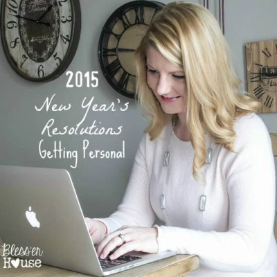 2015 New Year's Resolutions: Getting Personal