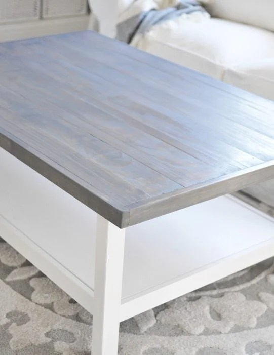 12 Goodwill Shopping Secrets Revealed | Bless'er House -- after a few coats of paint, this coffee table is looking brand new! It was a total score from Goodwill.