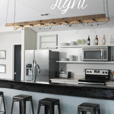 DIY Ladder Light