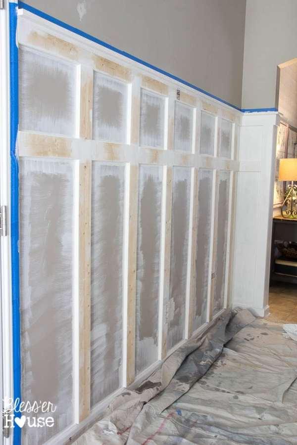 DIY Board and Batten for Under $100 | Bless'er House