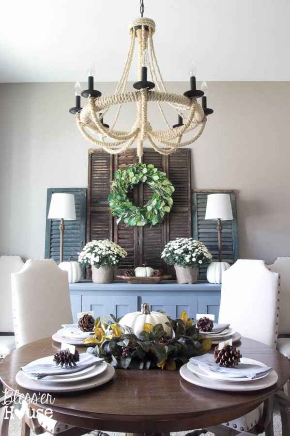 7 Ingredients to Create a Cozy Space | www.blesserhouse.com | dining room