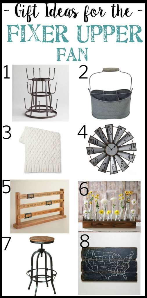 Gift Ideas for the Fixer Upper Fan   Christmas Wish List Gift Guide   blesserhouse.com