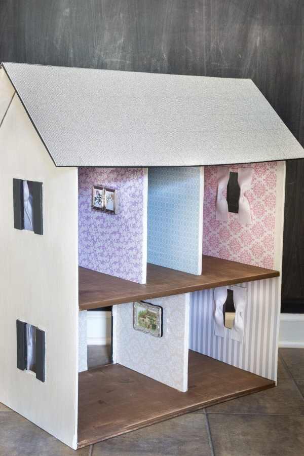 Santa Thrifting and Dollhouse Makeover   www.blesserhouse.com