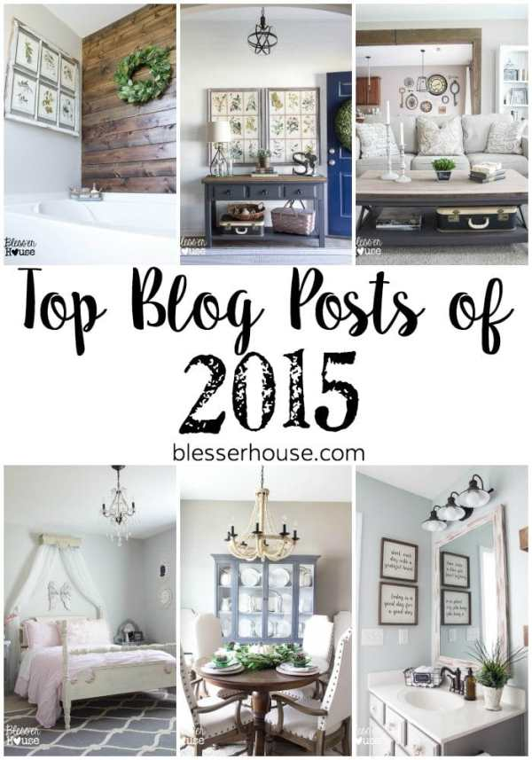 Top Blog Posts of 2015 | blesserhouse.com