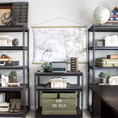 Office Progress – Industrial Shelving