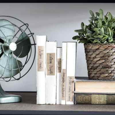 How to Style Industrial Shelves on the Cheap