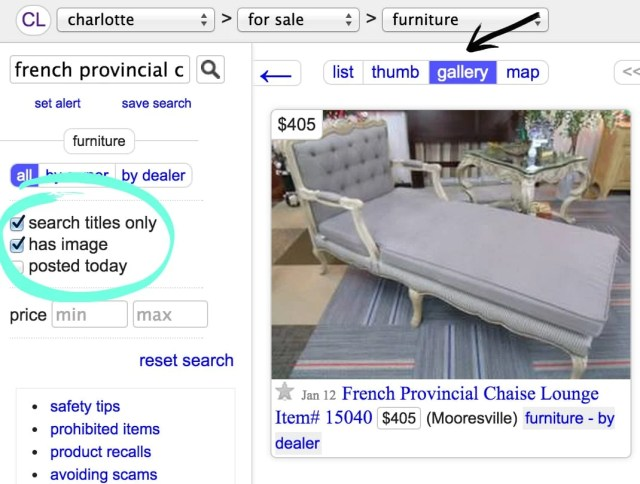 18 Craigslist Shopping Secrets Revealed | blesserhouse.com - This has SO MANY good tips!