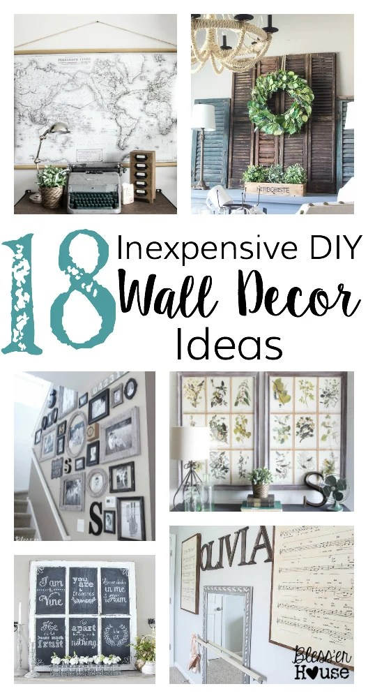 Diy Home Wall Decor Ideas