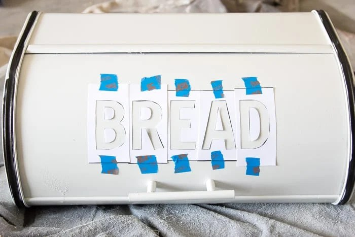 DIY Enamel Bread Box Makeover | blesserhouse.com