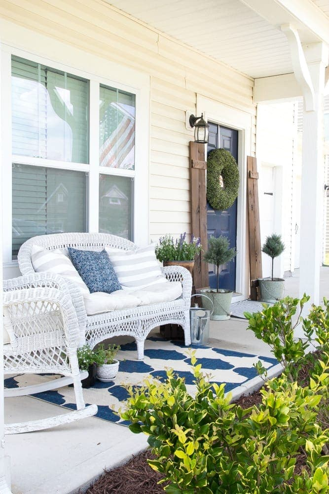 Summer Porch and Yard Progress | blesserhouse.com