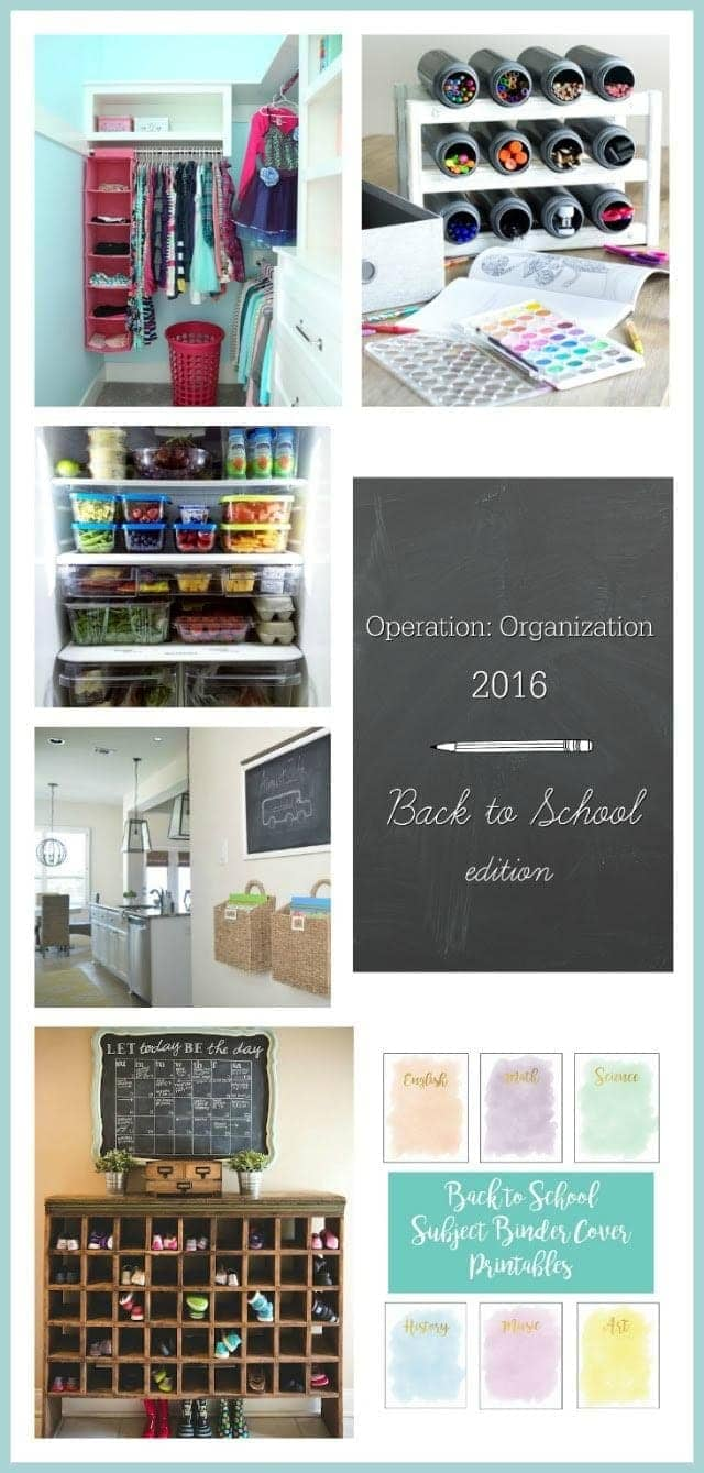 Operation Organization Back to School