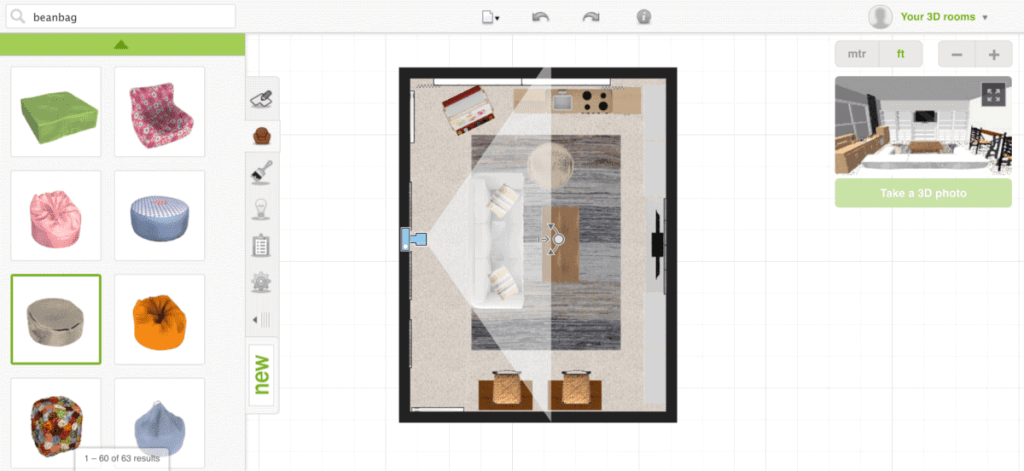 How to Plan a Room's Furniture Layout + One Room Challenge Week 1 | blesserhouse.com - How to plan a room's furniture layout and how to design mock-up rooms online like a professional for free using one simple website.