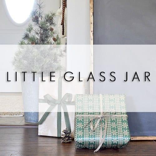 LITTLE GLASS JAR