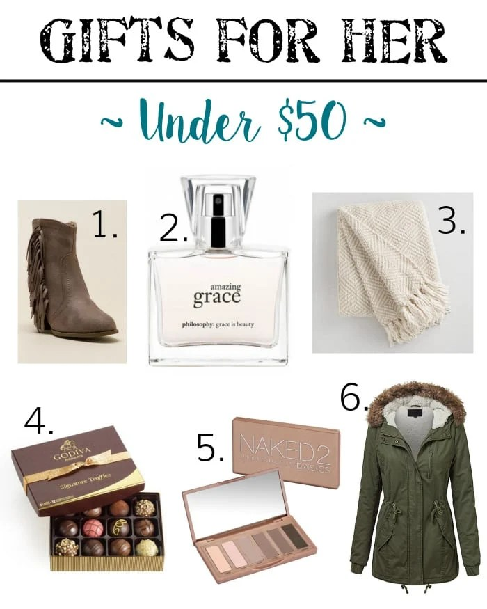Holiday Gift Guide - Gifts for Her Under $50 | blesserhouse.com - Gift ideas for men and women of all ages for all budgets plus a $300+ giveaway!