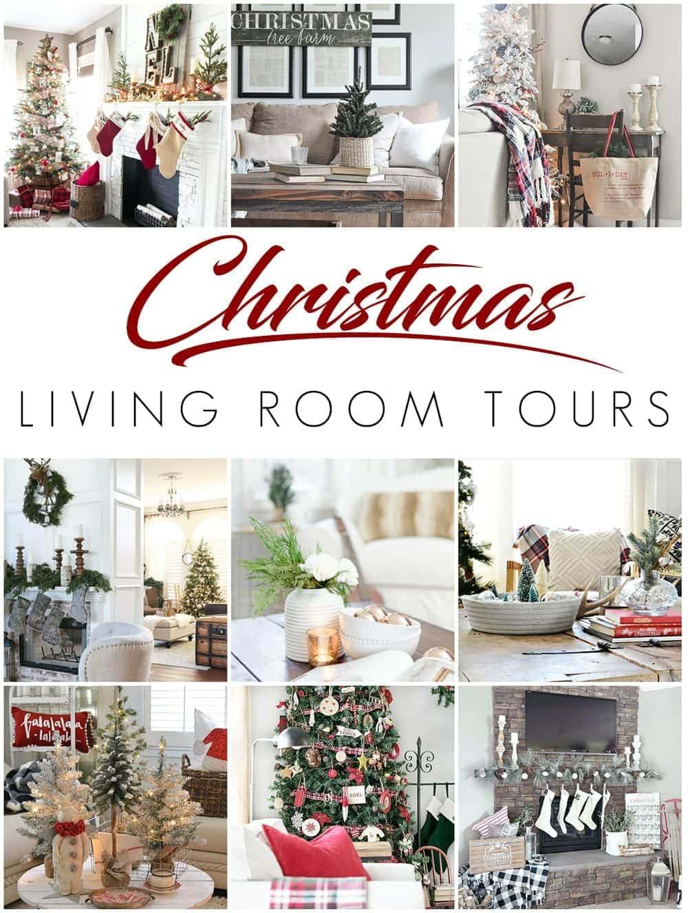 Living Room Dining Room Decorating Ideas Christmas