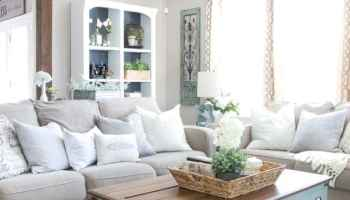 How We Keep Our Living Room Organized - Bless\'er House