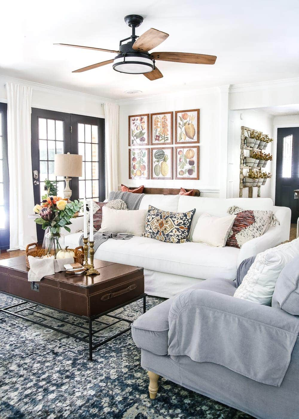 8 Fall Decorating Tips For A Budget And Fall Home Tour 2017