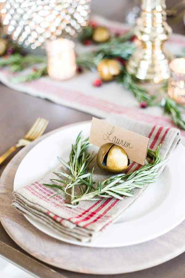 Mercury Glass Christmas Tablescape | blesserhouse.com - How to set up a vintage glam mercury glass Christmas tablescape with tips and sources for how to do it on a budget. #christmasdecor #christmastablescape #holidaydecor #christmasdiningroom
