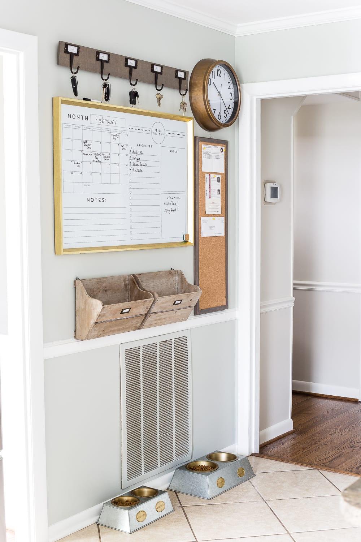 DIY Wall Decor Ideas | command center