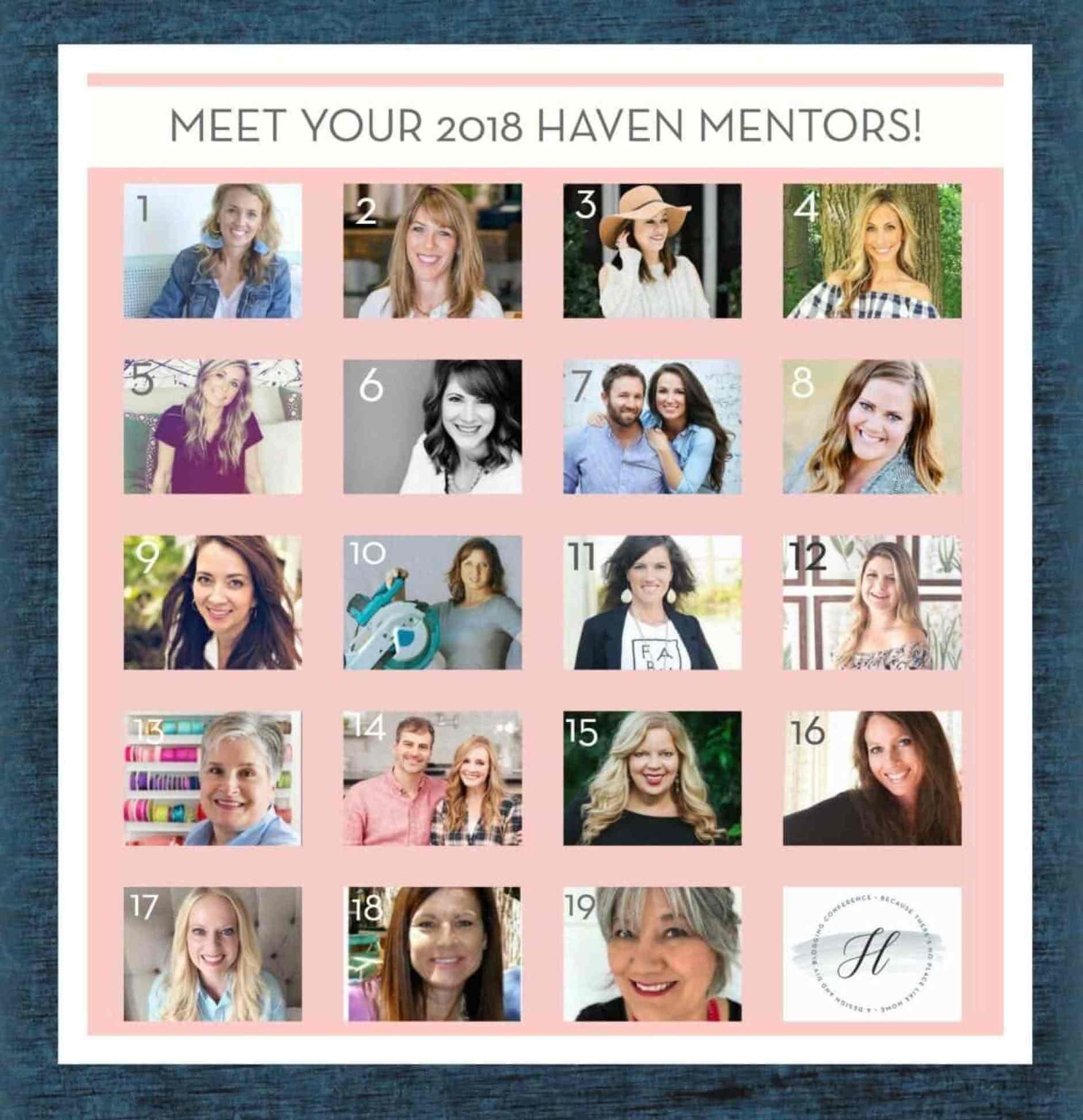 2018 Haven Mentors