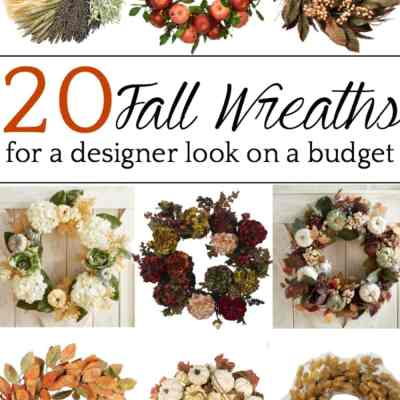 20 Fall Wreaths for Under $100