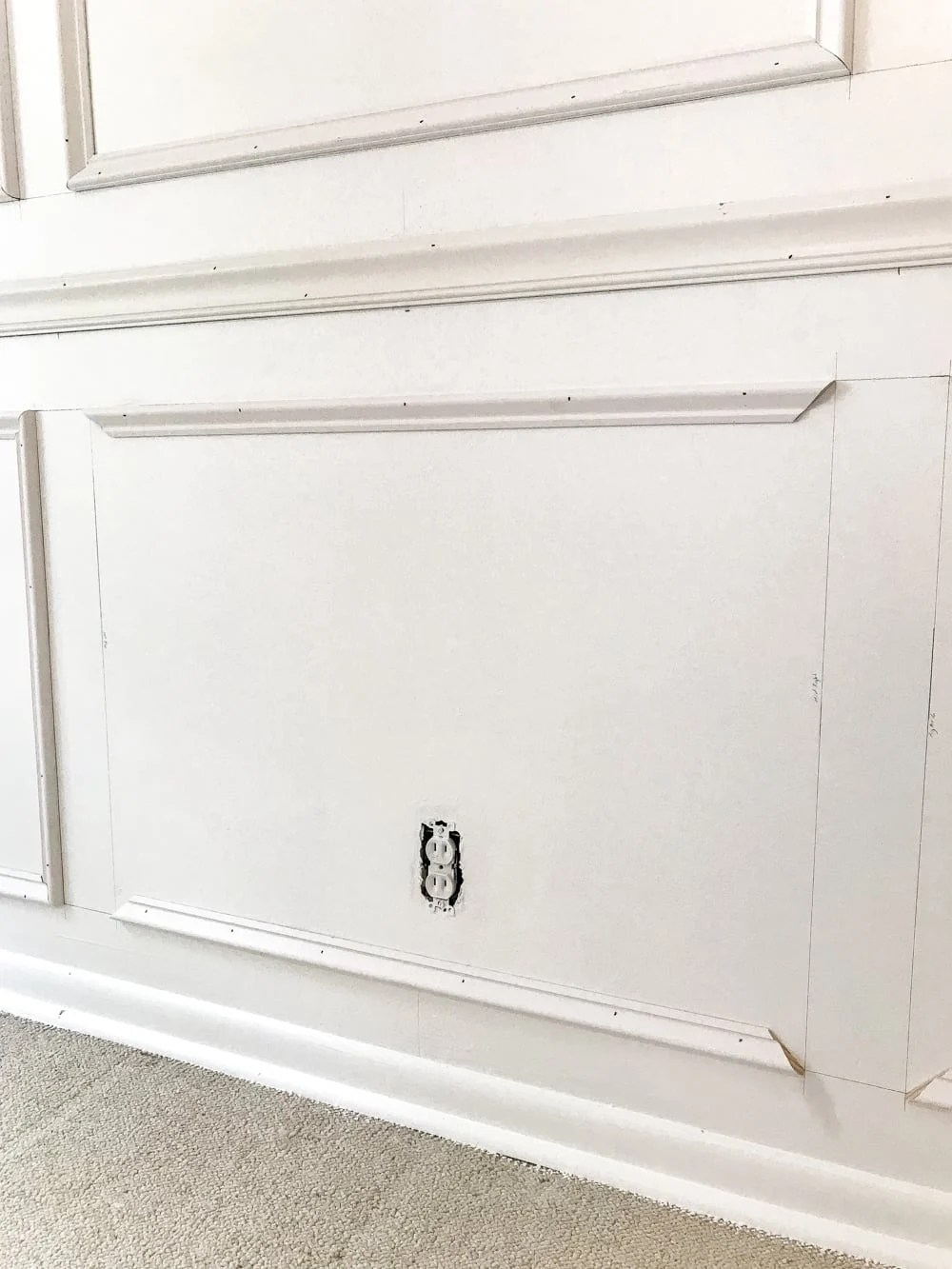 diy picture frame molding