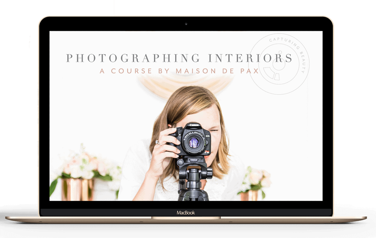 The best course for teaching you how to photograph interiors and jumpstart your career as a blogger, interior designer, or real estate photographer.