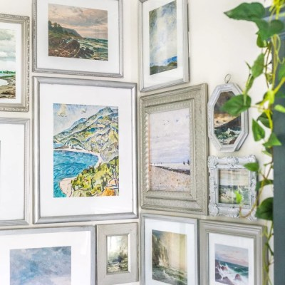 Coastal Gallery Wall and Printable Set