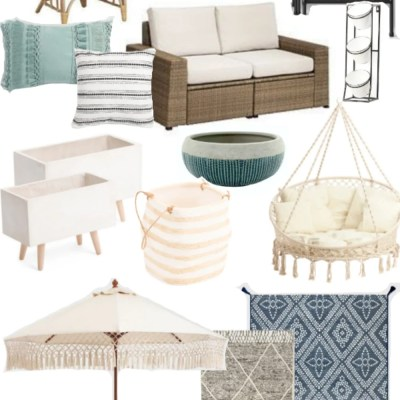 Affordable Outdoor Decor Finds