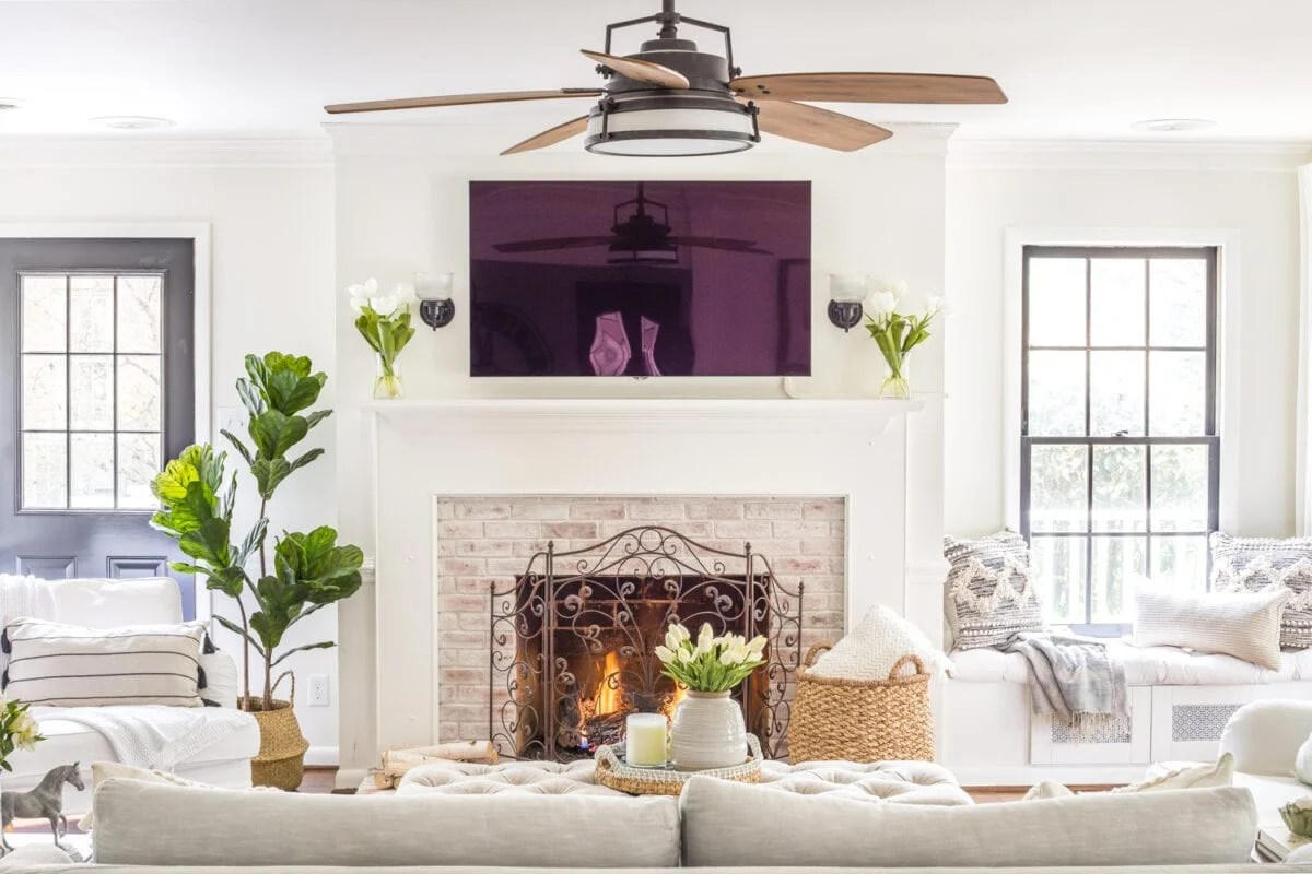 Winter / spring living room