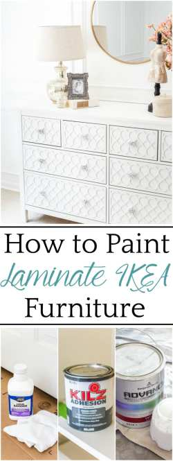 The Trick To Paint Laminate Ikea Furniture Bless Er House
