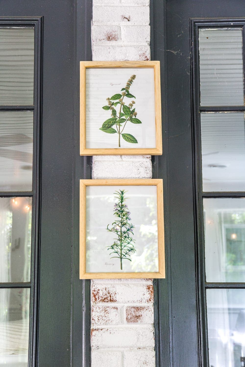 How to Hang Decor on Brick Without Damage