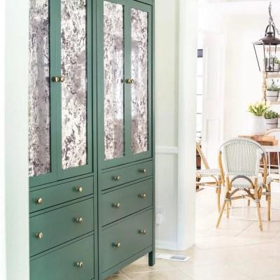 DIY IKEA Hemnes Pantry Cabinet