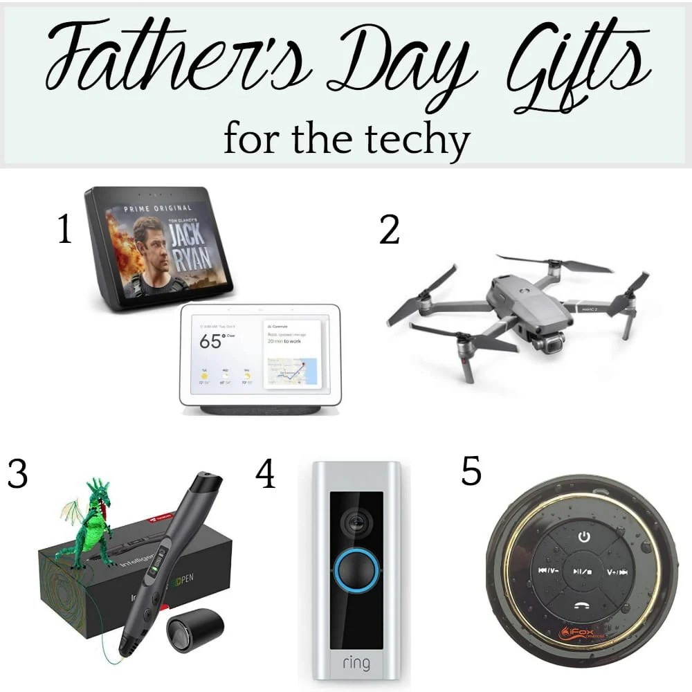 Father's Day Gift Ideas for the Techy