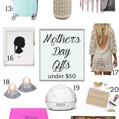 Luxurious and Sentimental Mother's Day Gifts Under $50