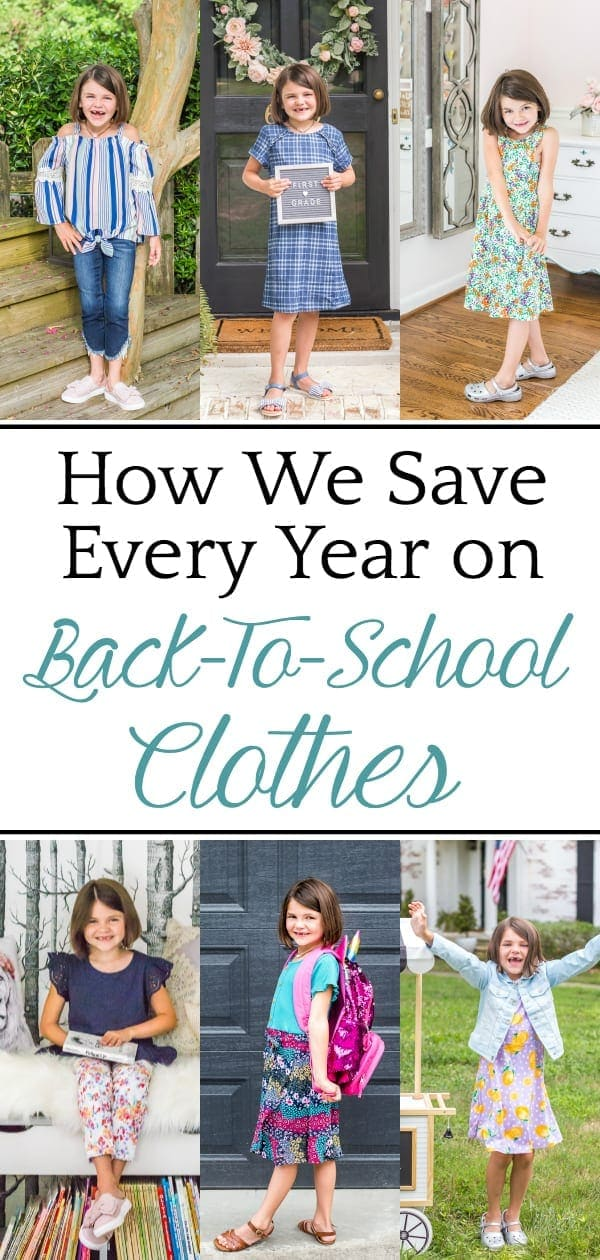 The main resource we use to shop for budget-conscious back-to-school clothes every year + outfits that can transition from summer to fall with layering.