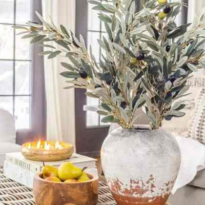 Neutral Fall Faux Greenery   Wayfair & Birch Lane Sales