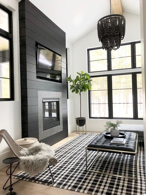 Making a Case for Black Paint | 25 gorgeous black paint room inspirations and how it can make any room feel high-end for just the cost of paint + how it can improve your quality of life.