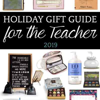 Holiday Gift Guide 2019: Teacher Gifts