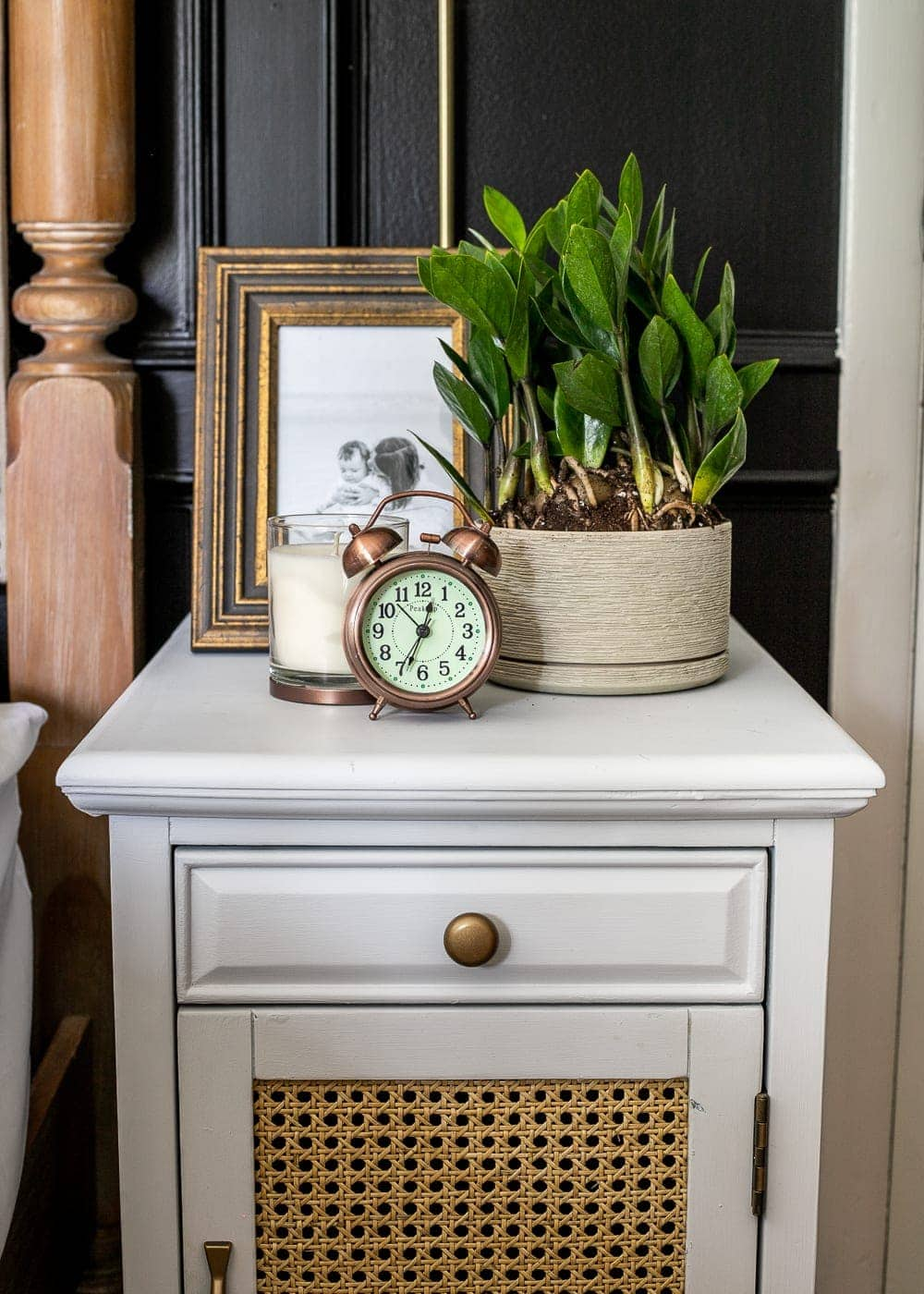 Master Bedroom Nightstand Decor