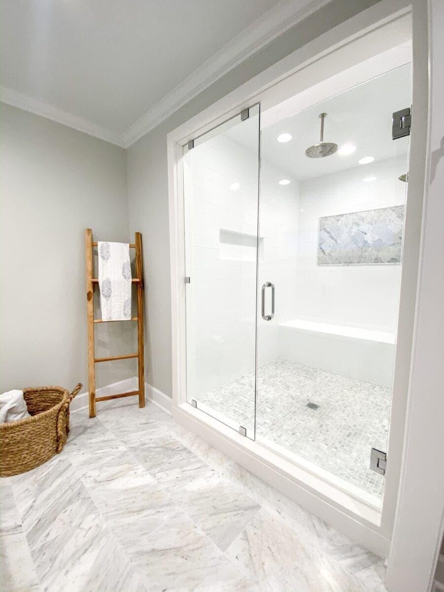 Sea Island Coastal House Tour | shower